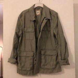 Gap Military Jacket - Olive